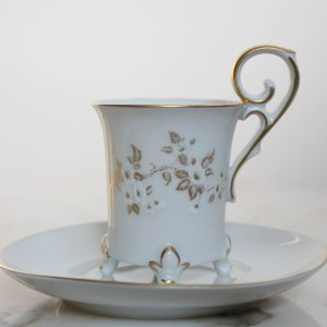 Expresso coffee porcelain cup